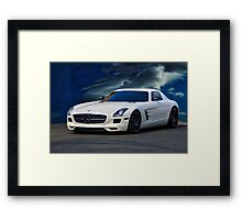 201X Mercedes Benz SL Framed Print