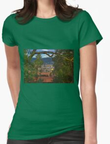 View Of Cuenca From The North Hill II Womens Fitted T-Shirt