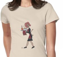 Wildago's Christmas Pearl in Sheffield Womens Fitted T-Shirt