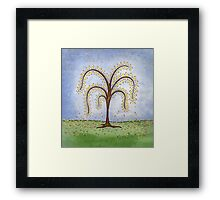 Whimsical Willow Tree Framed Print