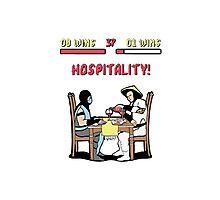 Mortal Hospitality Kombat Photographic Print