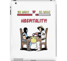 Mortal Hospitality Kombat iPad Case/Skin