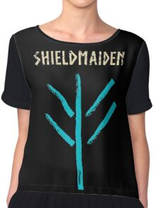 shieldmaiden -  symbol Chiffon Top