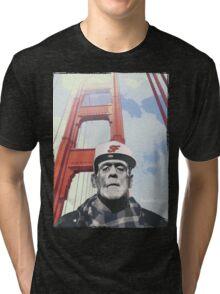 #goldengate (Frankie's selfie) Tri-blend T-Shirt