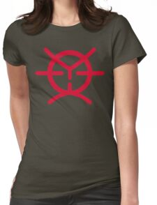 Space Pirate (red) Womens Fitted T-Shirt