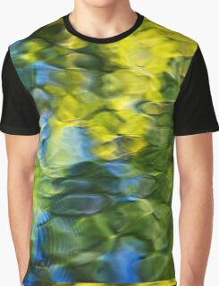 Sea Breeze Water Abstract Graphic T-Shirt