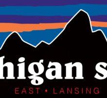 Michigan State Mountains Sticker