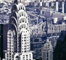 NYC - Chrysler Building Sticker