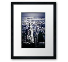 NYC - Chrysler Building Framed Print