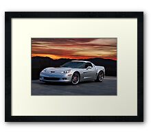 2006 Corvette Z06 Coupe Framed Print