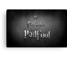 My Patronus is Padfoot Canvas Print