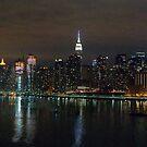 Manhattan - NYC by Jean-Luc Rollier