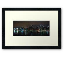 Manhattan - NYC Framed Print