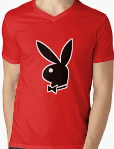 Bunny Mens V-Neck T-Shirt