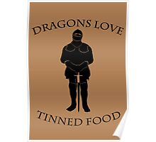 Tinned Dragon Food Poster