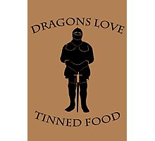 Tinned Dragon Food Photographic Print
