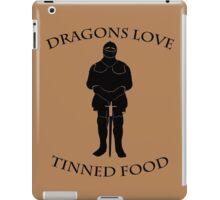 Tinned Dragon Food iPad Case/Skin