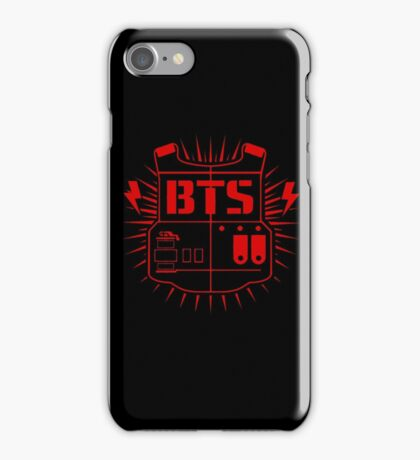 BTS (ARMY Red) iPhone Case/Skin