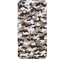 Camouflage military cloth of infantry iPhone Case/Skin