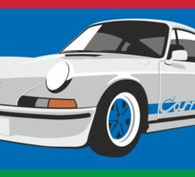 Porsche 911 Carrera (1973) Sticker
