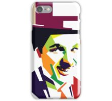 Chaplin meet pop iPhone Case/Skin