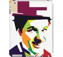 Chaplin meet pop iPad Case/Skin