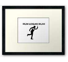 Run Logan Run! Framed Print
