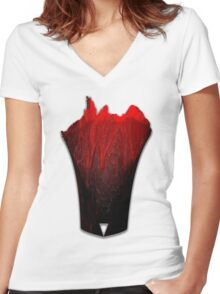 Bloodworks Women's Fitted V-Neck T-Shirt