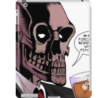 Retro Black Mask iPad Case/Skin