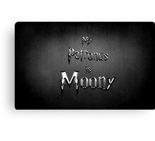 My Patronus is Moony Canvas Print