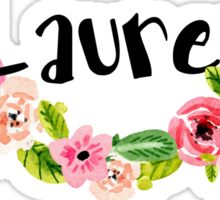 Lauren Floral Sticker