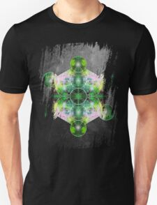 Metatron's Cube green T-Shirt
