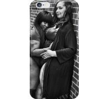 Thick black love iPhone Case/Skin
