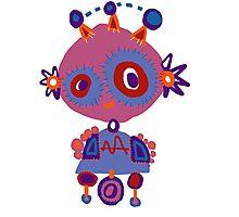 Babybot Photographic Print