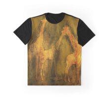 Moods Of Africa - Giraffes Graphic T-Shirt