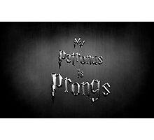 My Patronus is Prongs Photographic Print