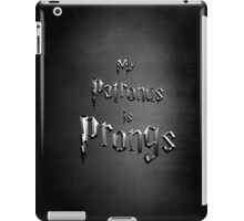 My Patronus is Prongs iPad Case/Skin