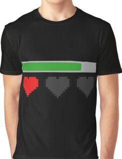 Last Life Retro Hearts Graphic T-Shirt