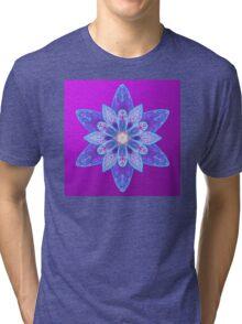 Blue shimmer Tri-blend T-Shirt