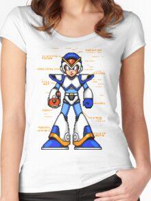 Rock Man X Women's Fitted Scoop T-Shirt