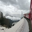 The Bernina Train by Lilian Marshall