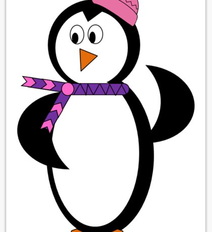 Ice Penguin Sticker