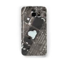 Abstract Map of Central Park, NYC Samsung Galaxy Case/Skin