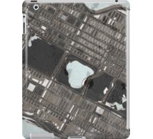 Abstract Map of Central Park, NYC iPad Case/Skin
