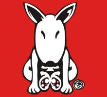 English Bull Terrier Tee  One Piece - Short Sleeve