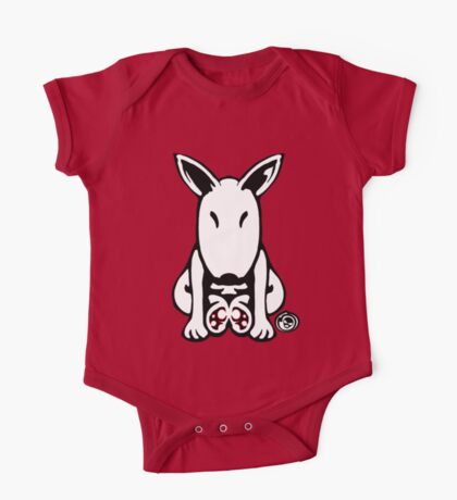 English Bull Terrier Tee  One Piece - Short Sleeve