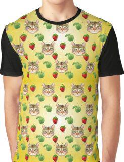 Cat Vector Graphic T-Shirt