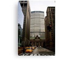 Grand Central Station under the MetLife building Canvas Print