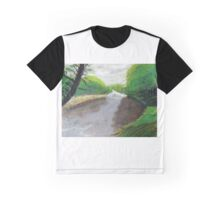 """""""River Swale, Yorkshire Dales Graphic T-Shirt"""