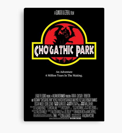 Cho'Gathic Park Parody Canvas Print